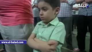 بالفيديو.. صلاة عيد الفطر المبارك من مسجد «عمر مكرم»