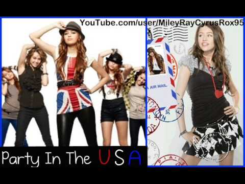 Miley Cyrus - Party In The USA Full (HQ)  (W/ DOWNLOAD)