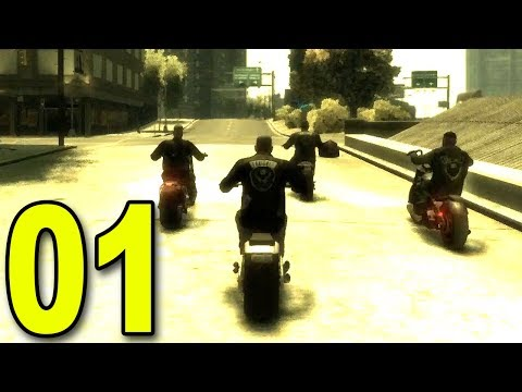 Grand Theft Auto: The Lost and Damned - Part 1 - Joined a Motorcycle Gang