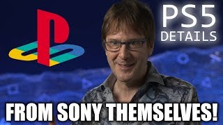 PlayStation Lead Architect Reveals EVEN MORE PS5 Specs!