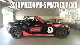 Mazda MX-5 Miata Cup Car at Lightning Lap 2016