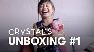 Crystal Unboxes a Unicorn!