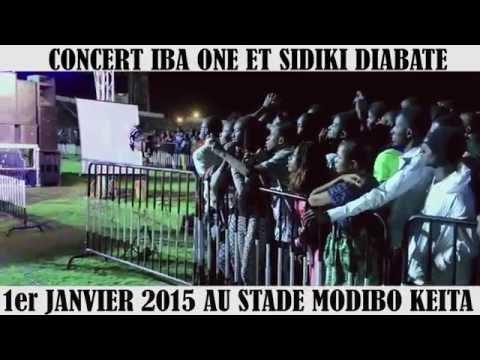 IBA ONE ET SIDIKI DIABATE CONCERT 1ER JAN 2015 by ABC