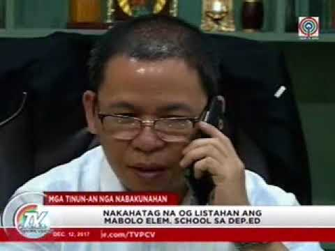 TV Patrol Central Visayas - Dec 12, 2017