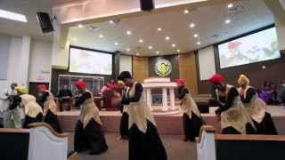 Women Of Praise Black History Dance