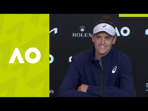 "Jennifer Brady: ""I enjoyed every single minute"" press conference (F) 