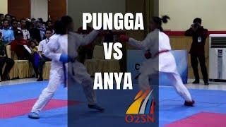 Pungga vs Anya (Seleksi O2SN Karate SMA Aceh 2017)