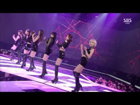 141221 AOA - Miniskirt+Like A Cat @SBS Gayo Daejun