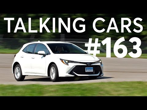 2019 Toyota Corolla Hatchback; IIHS\' Tesla Advanced Safety Data | Talking Cars #163