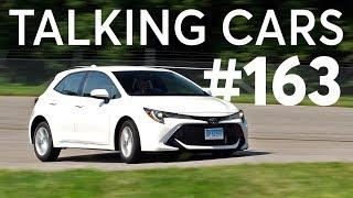 2019 Toyota Corolla Hatchback; IIHS\' Tesla Advanced Safety Data | Talking Cars #163