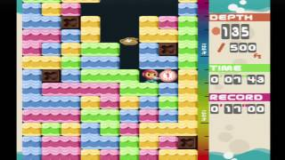 Mr Driller PS One Gameplay on PS3