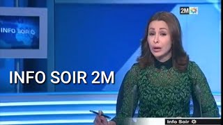 ???? Info Soir 2m Maroc aujourd'hui du VENDREDI 25 OCTOBRE 2019 2M Maroc aKhbar maghribiya
