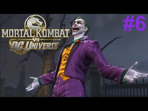Mortal Kombat vs DC Universe PS3 Gameplay #6: The Joker