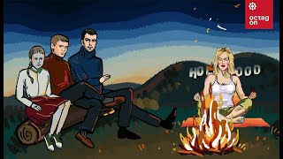 Пранк с Шерон Стоун. «Телефонные ребята» на Октагоне