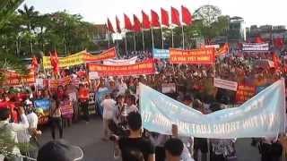 Biểu tình hòa bình chống Trung Quốc tại Hải Phòng