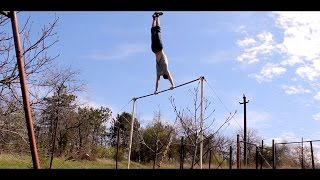 Warning-up and 28 pull-ups