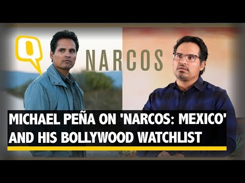 Michael Peña on 'Narcos: Mexico' and What's on His Bollywood Watchlist