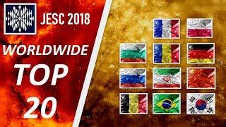 [ TOP 20 ] JESC 2018 W/ INTERNATIONAL FRIENDS | FINAL TOP 20