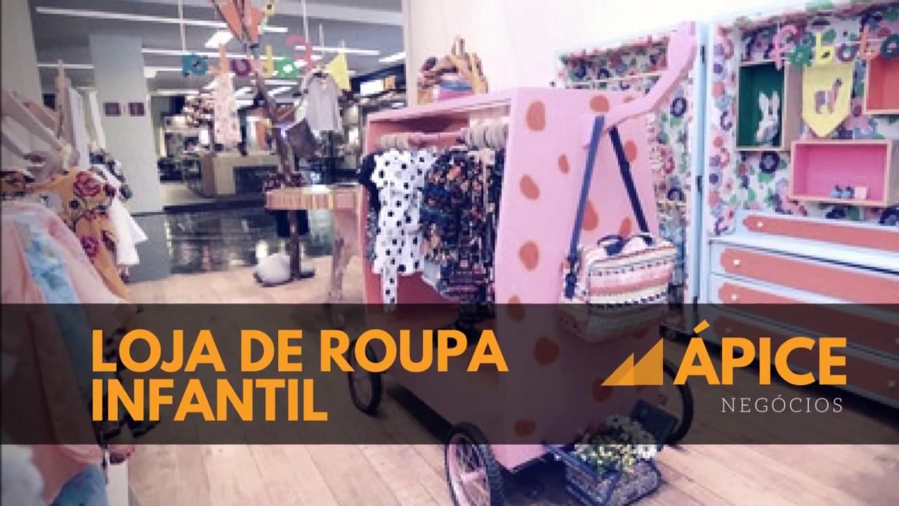 07c93b9656061 Vendo Loja de Roupa Infantil. - YouTube