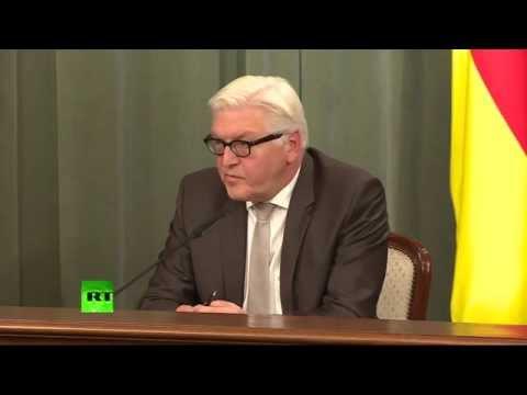 Пресс-конференция Сергея Лаврова и главы МИД Германии