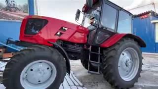 Как выгрузить тракторы Беларус-82.1 , Беларус-920.3 за несколько минут. МТЗ-82.1, МТЗ-920.3