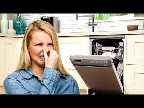 Как избавиться от запаха в посудомоечной машине