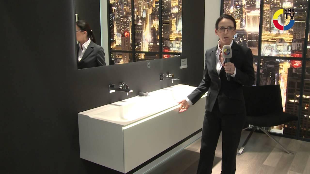 keramag xeno2 mit varicor waschtischen youtube. Black Bedroom Furniture Sets. Home Design Ideas
