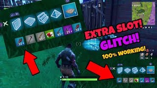 Fortnite Battle Royale extra slot Glitch (NEW) get extra item slot PS4/Xbox one