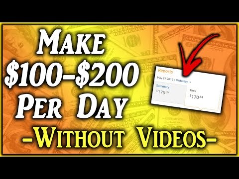 How To Make $100 To $200 Per Day On YouTube Without Recording Videos (NEW)