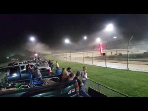 Lawrenceburg Speedway  Scout Night sprint cars short Flim