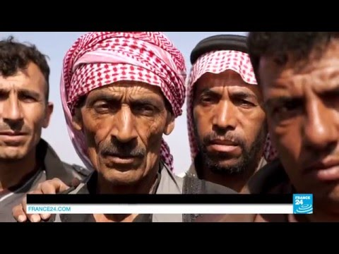 EXCLUSIVE - On the frontline with the Syrian Democratic Forces fighting islamic state group