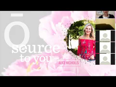 LIVE Essential Oils Class with Alice Nicholls