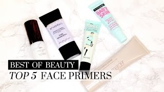 Top 5 Best Face Primers, top primers, primers