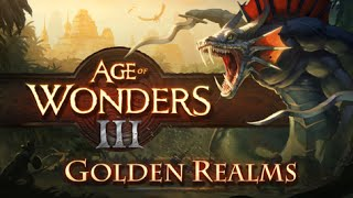 Age of Wonders III: Golden Realms Expansion Gameplay part 1
