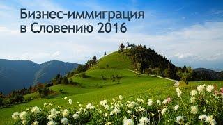 Бизнес-иммиграция в Словению 2016 | Новые возможности