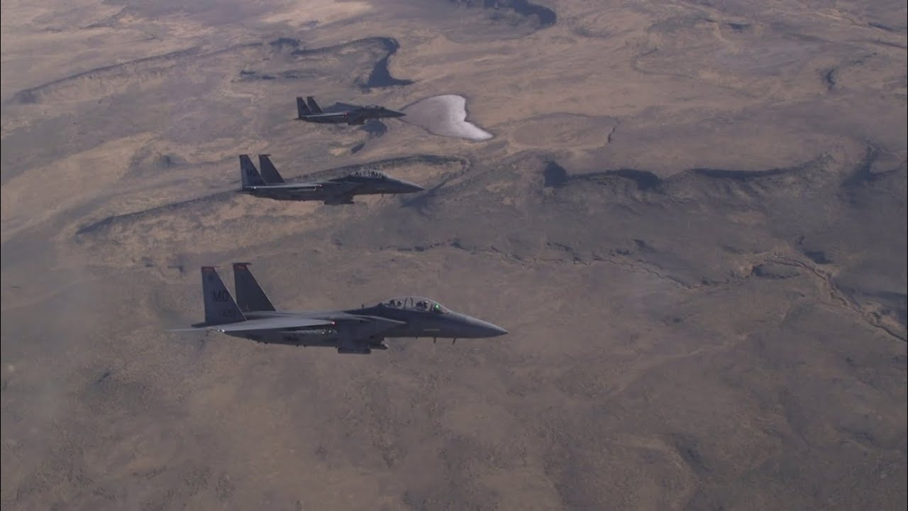 U.S. Air Force: The F-15E Strike Eagle POV