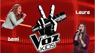 Demi vs Laura -La Voz Kids- (Something