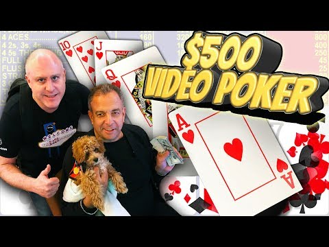 ♣️ $500 Video Poker ♣️ The HIGHEST STAKES on YouTube 💰Poker, Keno & Slot WIN$ 🤑| The Big Jackpot