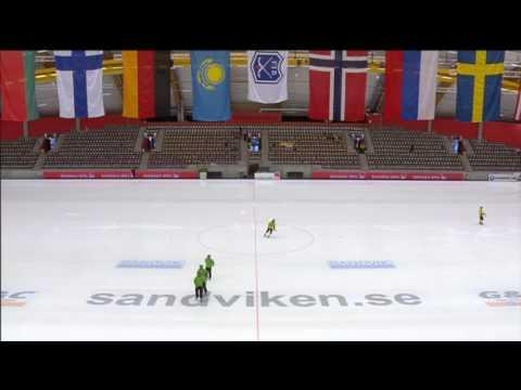 USA Bandy vs Kazakhstan 2017 VM Sandviken