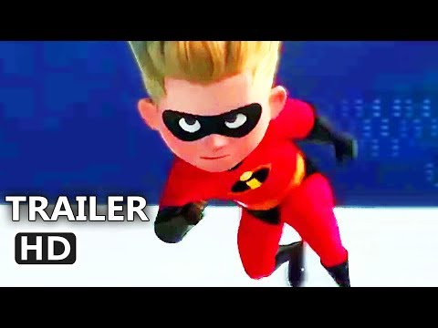 INCREDIBLES 2 ALL Clips Full online (2018) Animation, Superhero Movie HD