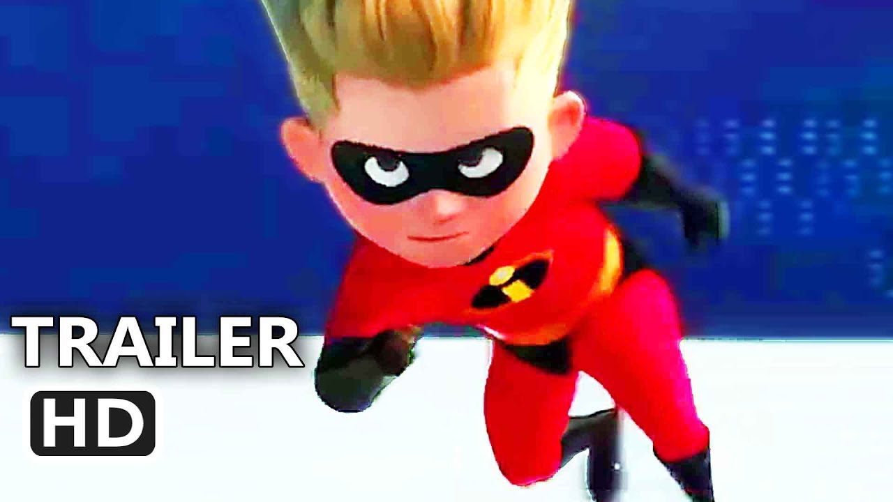 INCREDIBLES 2 ALL Clips Trailer (2018) Animation, Superhero Movie HD