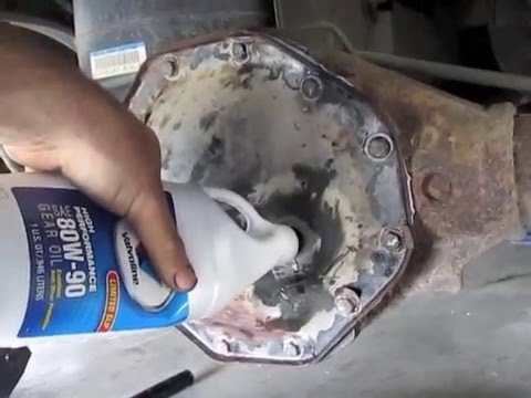 How To Check And Fill Rear Differential Fluid Check Filling OIL Rear End Maintenance