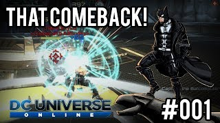DCUO | Gameplay PvP - That Comeback! #001