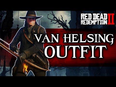 Red Dead Redemption 2 | Van Helsing Outfit (Monster Hunter Mode) | RDR2 thumbnail