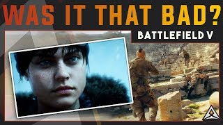 Why did so many people hate the Battlefield V trailer?