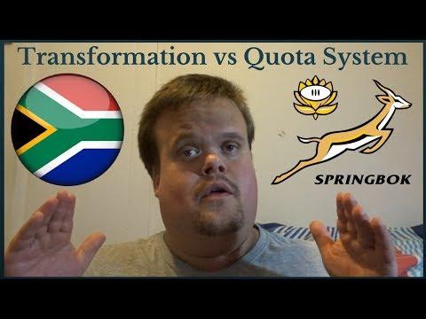 Springbok Rugby: Transformation vs Quota System