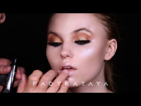 Glowy bridal makeup - Fady Kataya