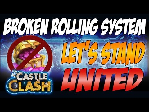 Castle Clash - Broken Rolling System And Petition Against Spending