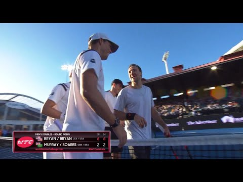 Match Highlights - Bryan Bros v Murray/Soares Day Two | World Tennis Challenge 2018