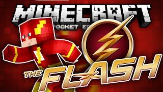 YOU ARE THE FLASH!!! - The Flash Superhero Mod for MCPE!!! - Minecraft PE (Pocket Edition)